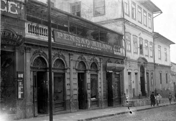 Pensão Milano dec 1910