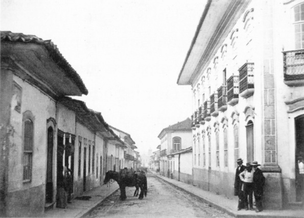 1862 do largo do ouvidor em direção ao mosteiro