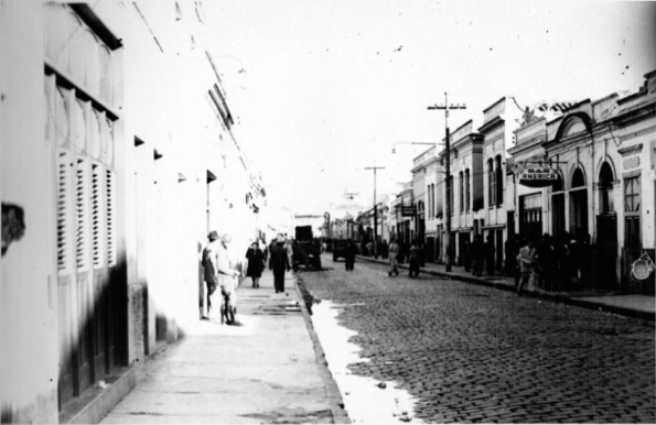 R Aimorés cerca 1950