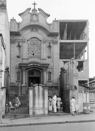 Igreja da Santa Cruz das Almas dos Enforcados 1957