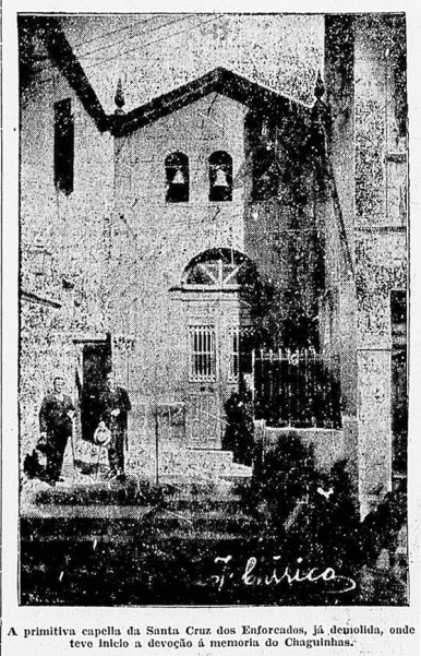 Chaguinhas capela enforcados Diário Nacional 19-08-1928 recorte